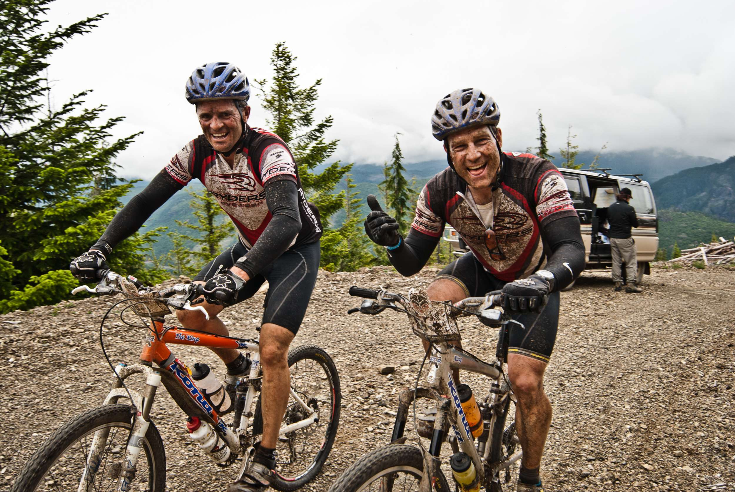 BC Bike Race Riders