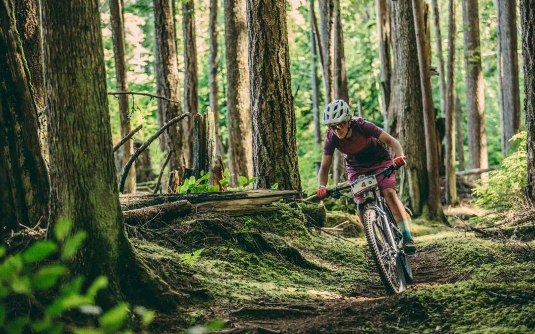 Hannah Barnes Tackles the BC Bike Race