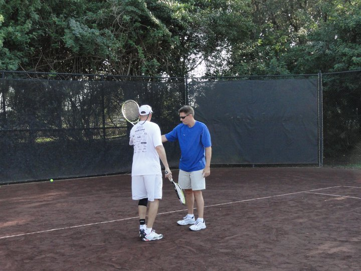 Tennis Lesson with Traveling Tennis Pros - Arbor Greene - Tampa, Florida