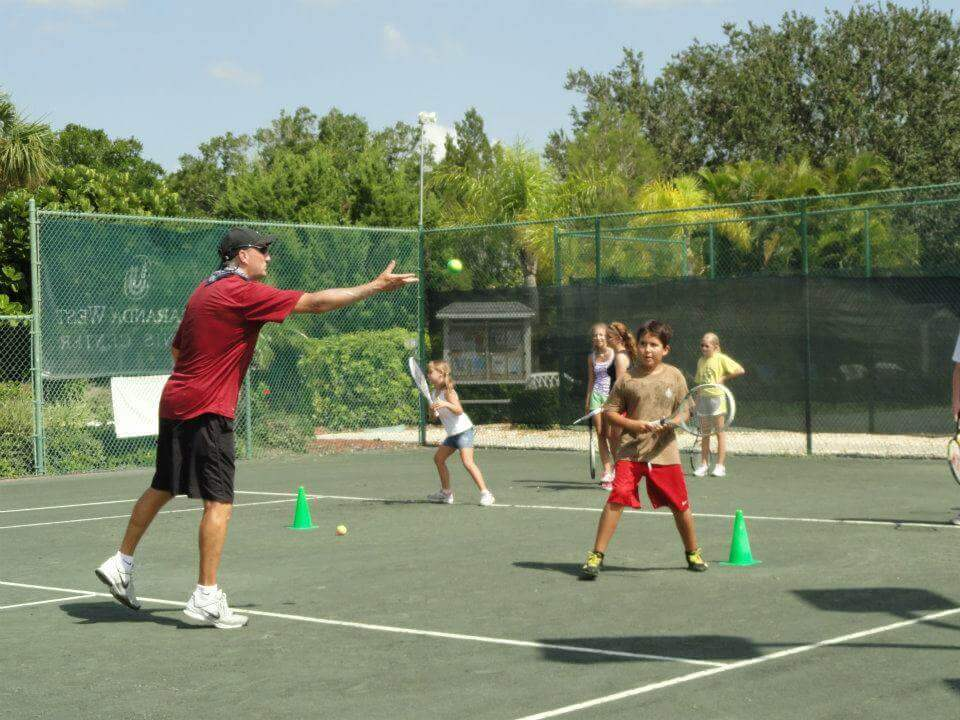 Traveling Tennis Pros - Junior Tennis Group Lesson