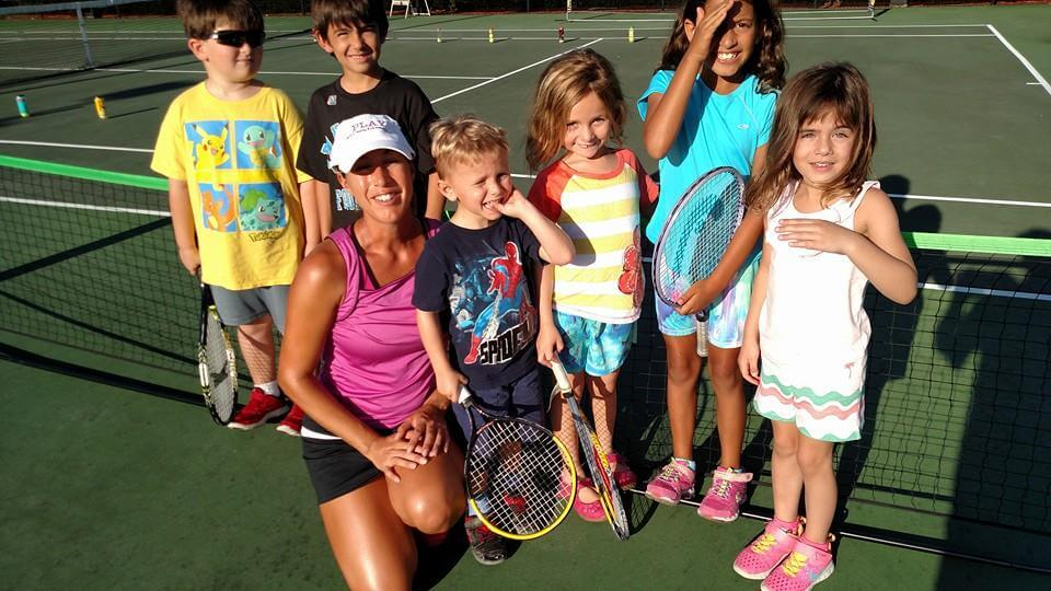 Traveling Tennis Pros - Junior Tennis Clinic