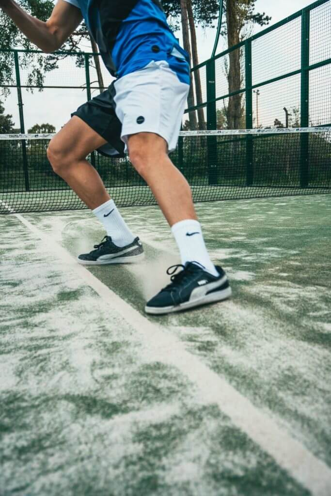 Tennis Player's Legs - Traveling Tennis Pros
