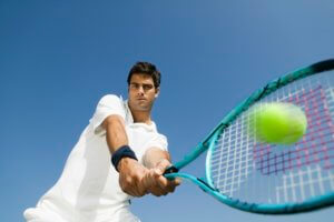 Use Your Footwork After Hitting a Shot by Steve Annacone