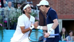 In Doubles, You Can't Win Without a Happy Partner by David Lloyd