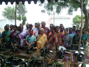 Distribution of Sewing Machines to Burgula Women by Pragathi Trust cache_942956149