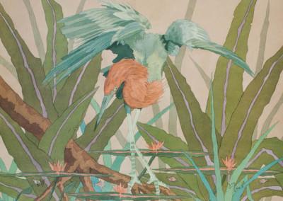 Reddish-Egret-with-Fish-18x24-150-1-400x284