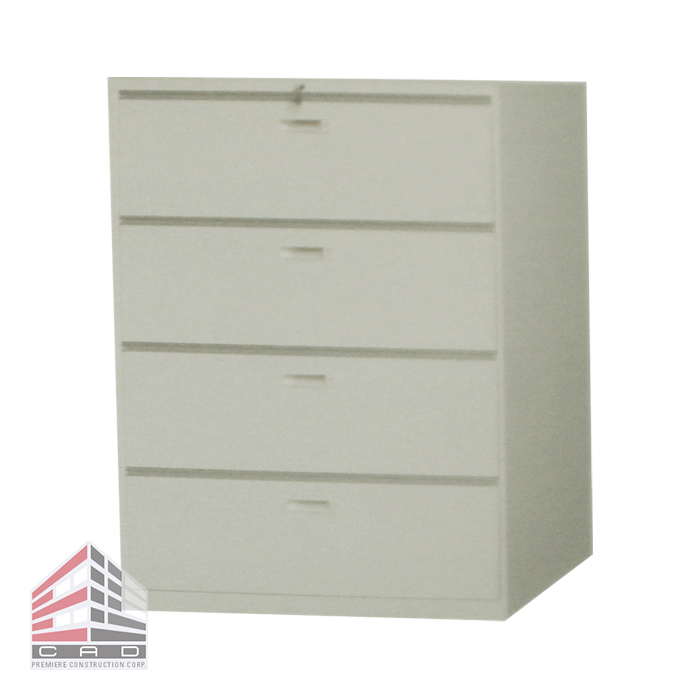 Filing System- Steel Cabinet CD-4