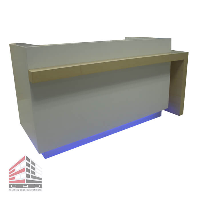 Reception Counter Solid Surface