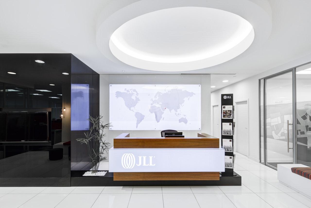 office reception area desk