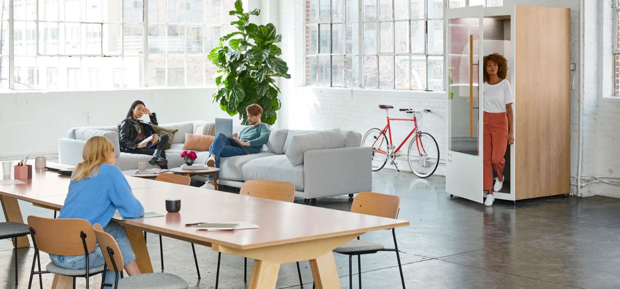 4 Tech Companies with Cool Office Designs