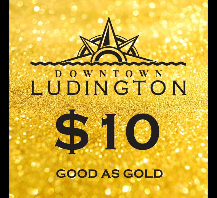 $10 Downtown Ludington Gift Certificates