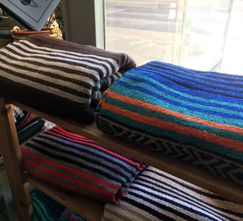 Blankets @ Evergreen Natural Foods Market