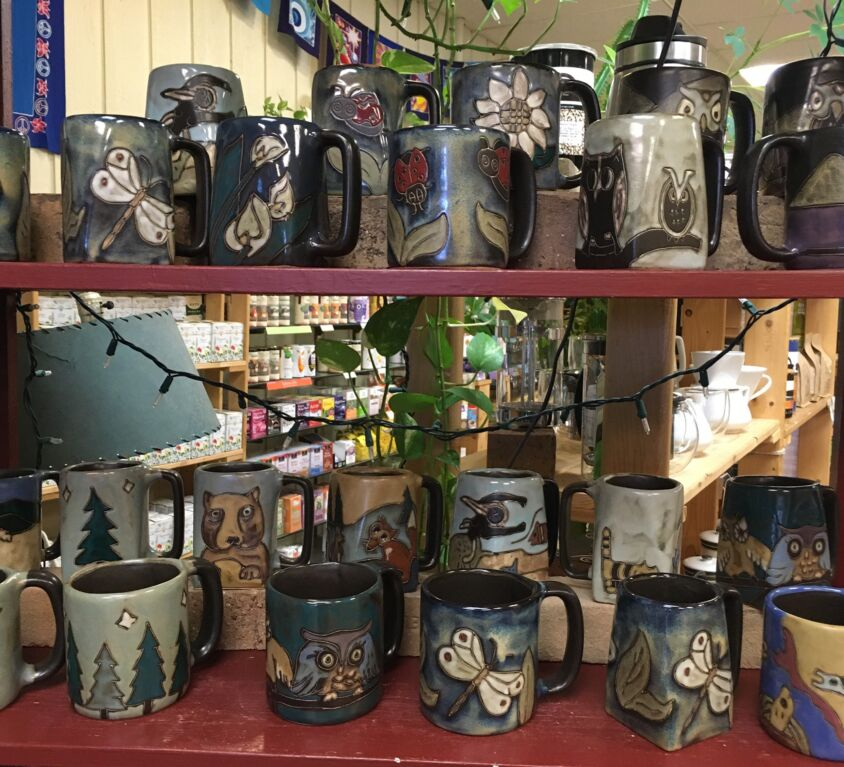 Mugs @ Evergreen Natural Foods Market