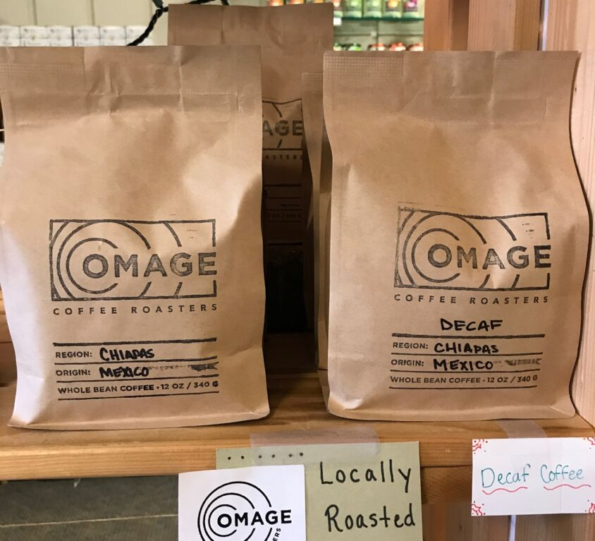 Omage Coffee @ Evergreen Natural Foods Market