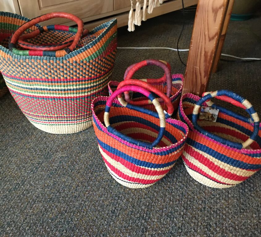 Baskets @ Evergreen Natural Foods Market
