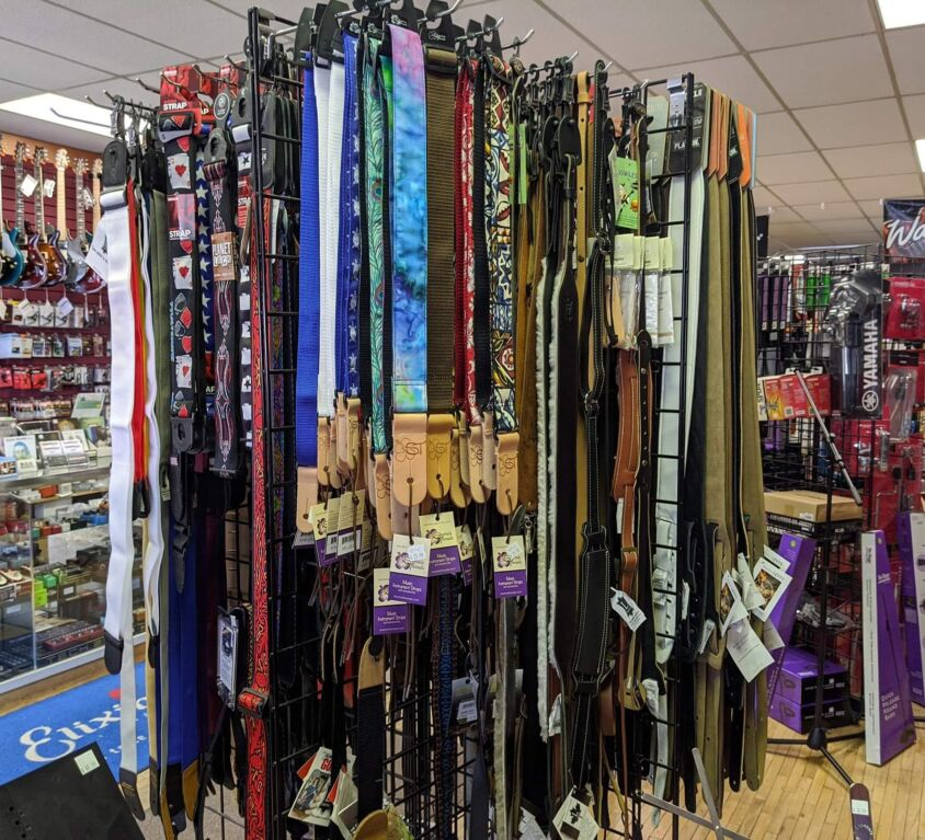 Guitar Straps @ Instrumental Music & Sound