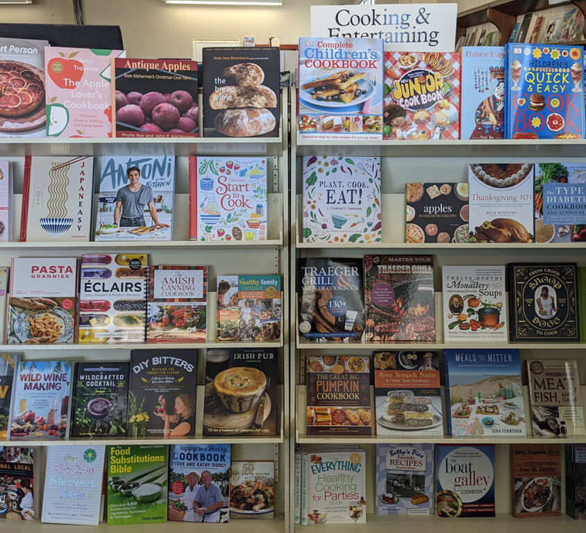 Cooking & Entertaining Books @ Book Mark