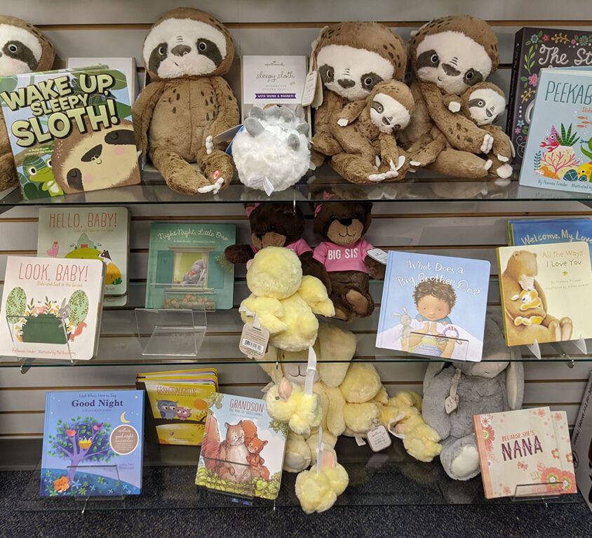 Stuffies & Books @ Mariellen's Hallmark