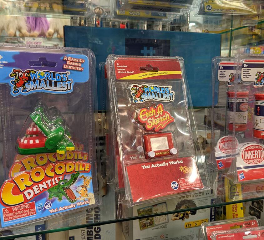 Tiny Games @ Mariellen's Hallmark