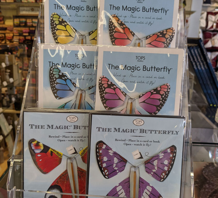Butterfly Book Mark @ Mariellen's Hallmark