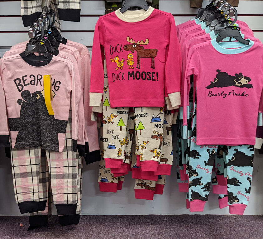 Girls PJs @ Purple Monkey Children's Boutique