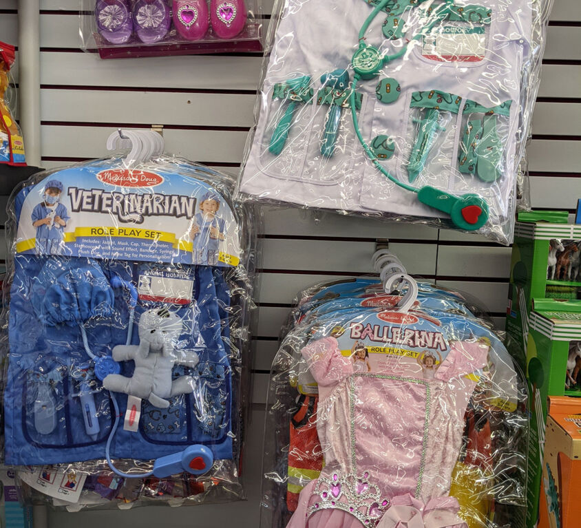 Dress Up Costumes @ Purple Monkey Children's Boutique