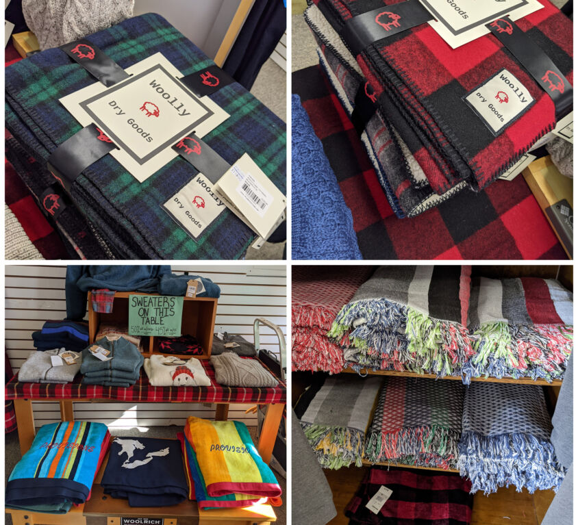 Blankets @ Provisions Sport Shop