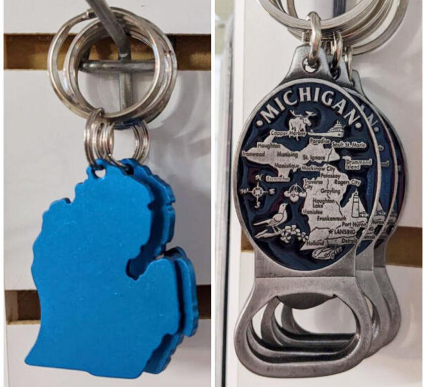 Michigan Key Chains @Windowsill