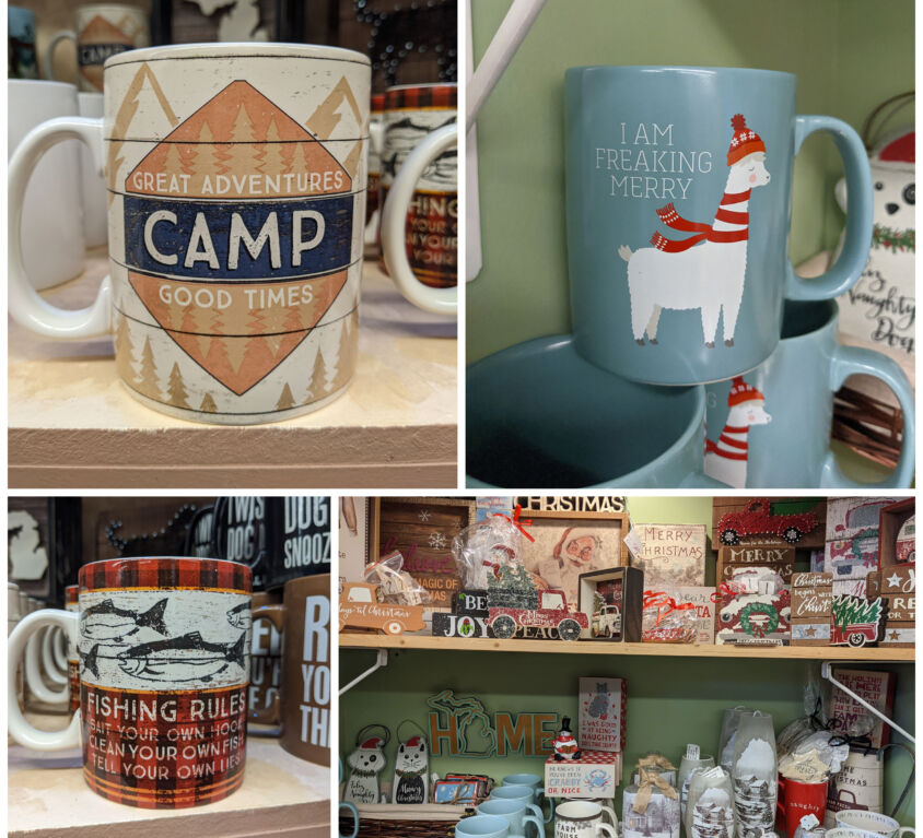 Mugs @ AGS Gift Shop