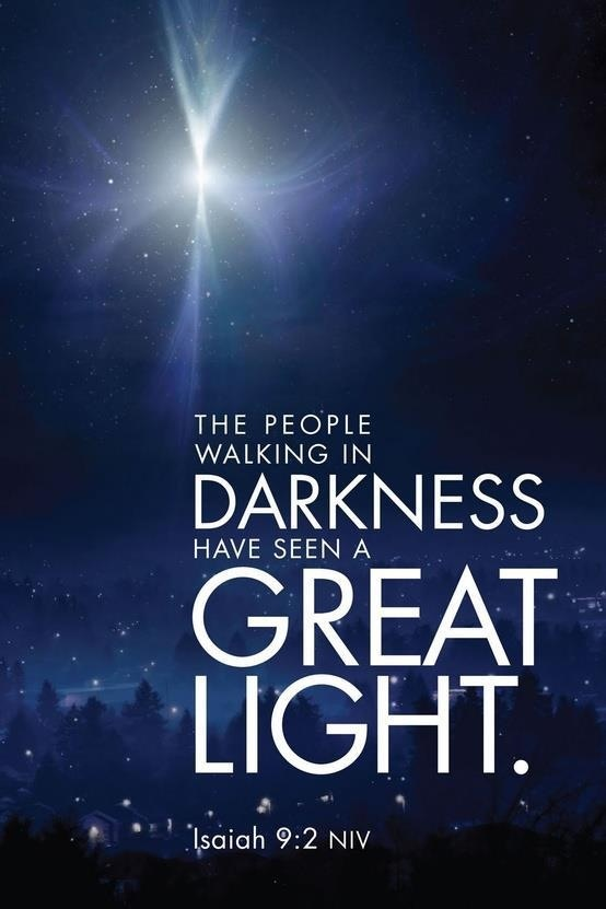 Light and the Meaning of the Holidays