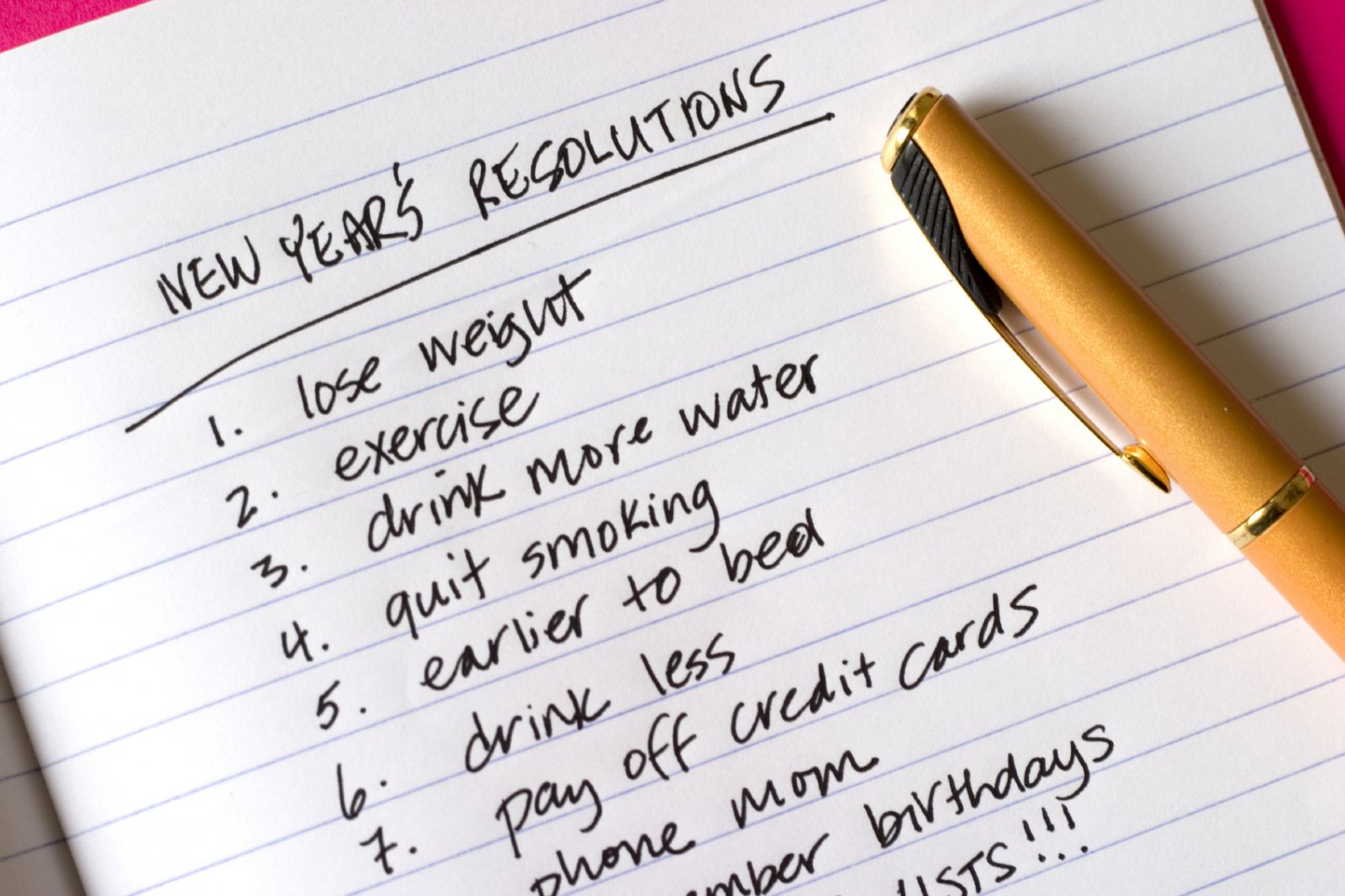 Being Reasonable about New Year's Resolutions