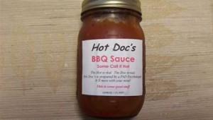 Doc's BBQ Sauce Some call it Hot