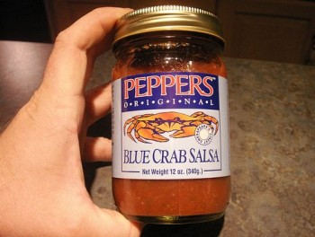 Peppers Blue Crab Salsa