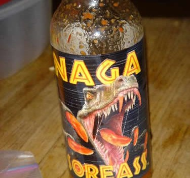CaJohn's Naga Soreass Hot Sauce