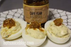 Cape Fear Spicier Pepper Relish Eggs