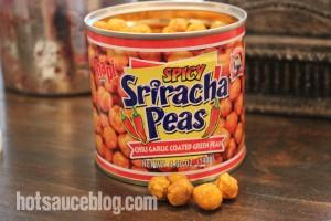 Spicy Sriracha Peas