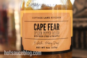 Cape Fear Spicier Pepper Relish
