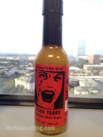 Tejas Tears Hot Sauce