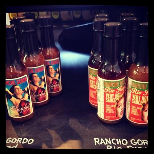 Rancho Gordo Hot Sauces @ Revival Market