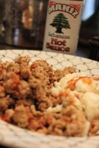 Makiz Lebanese Hot Sauce on Breakfast v2