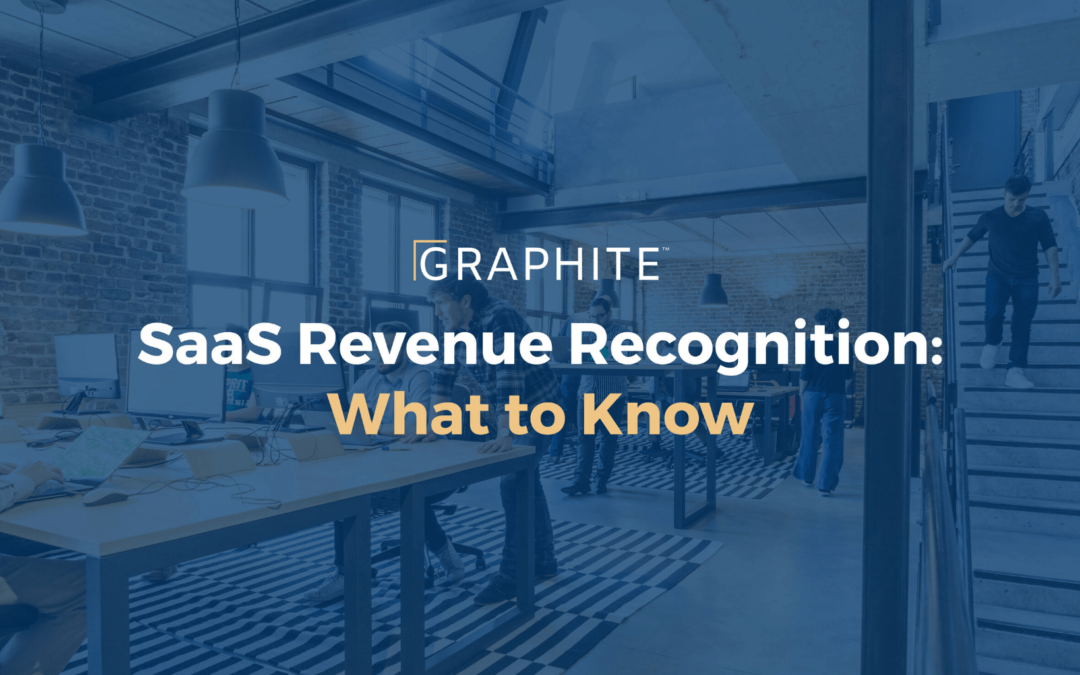 SaaS Revenue Recognition: What to Know