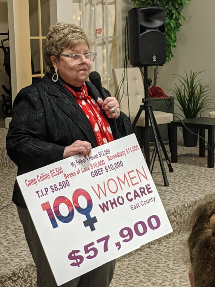 Bess Wills Co-Founder of 100+ Women Who Care