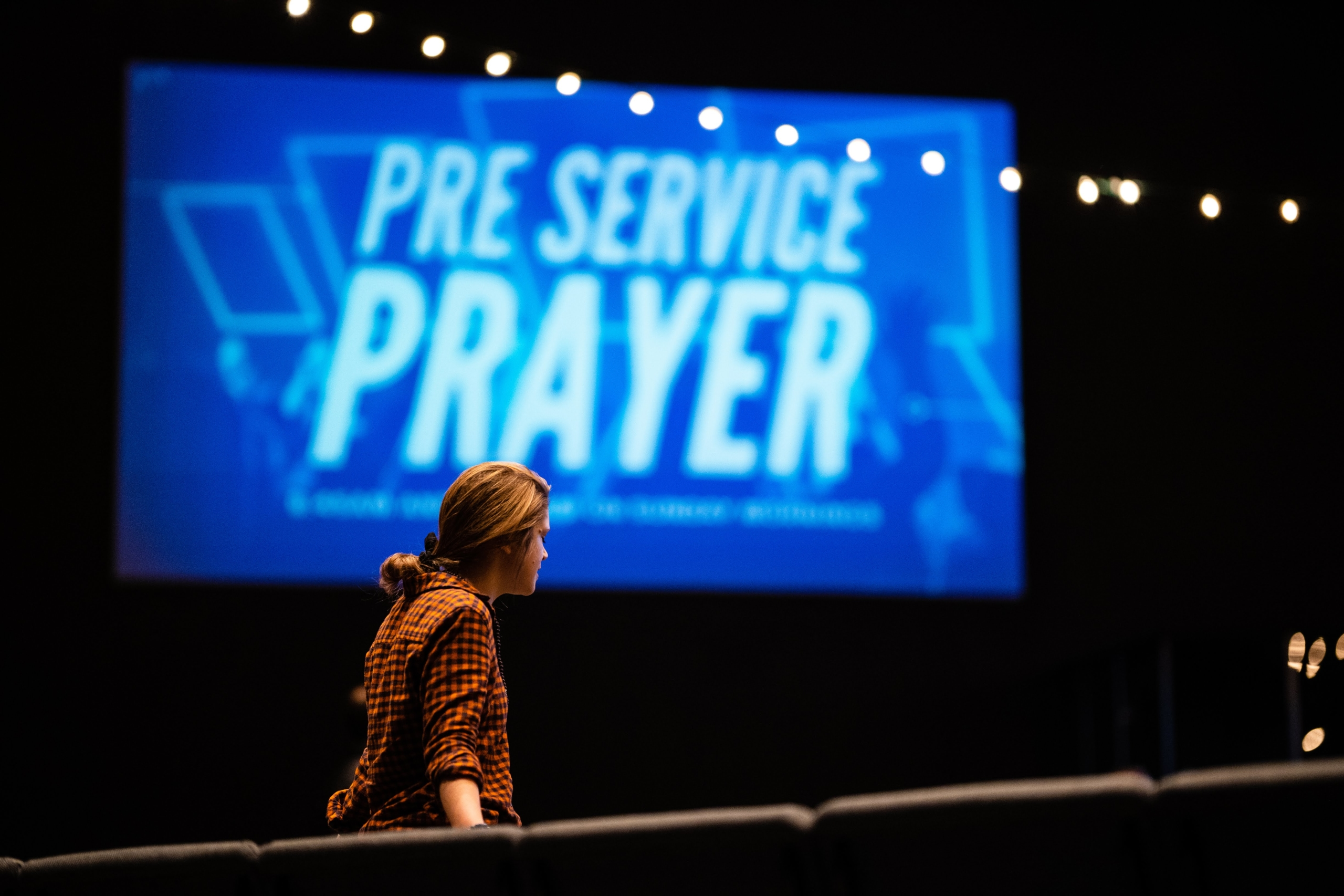 Prayer, Rock Church AVL, Asheville, NC