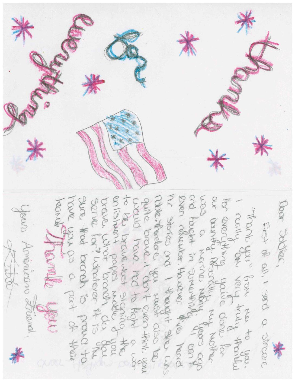 Sample Letter 4