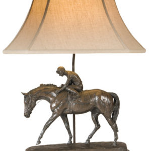 WELL RUN RACEHORSE LAMP
