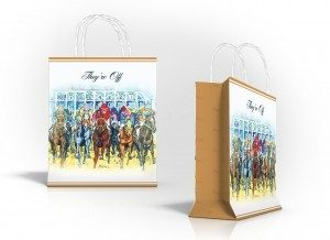 THEY'RE OFF HORSE RACING GIFT BAG