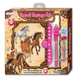 HORSE JOURNAL SET