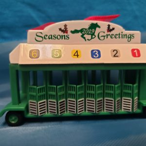 Starting Gate Seasons Greetings Green