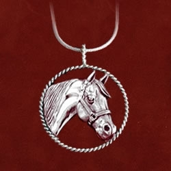 Quarter Horse Necklace