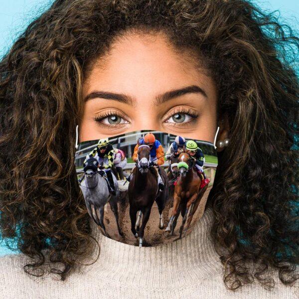 Head On Horse Racing Mask